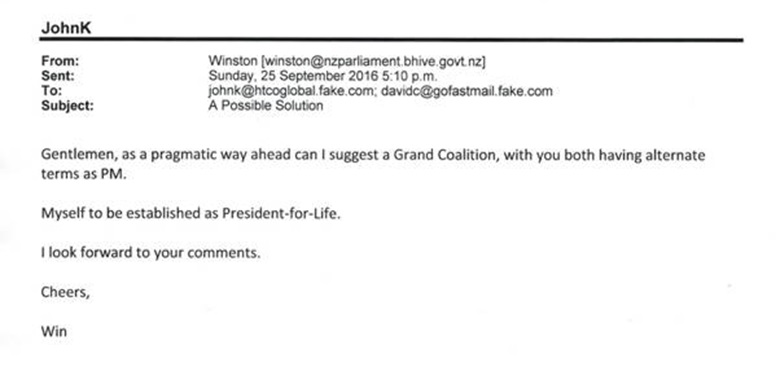 Example Email 1