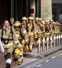 A disaster recovery plan should involve a trial run of a full outage. View it as a fire drill or you could end up dealing with the real thing. Photo credit: Firefighter Sky Tower Stair Challenge 2014 – 700 firefighters battled their way to the top in full gear, raising $914,000 for Leukaemia NZ