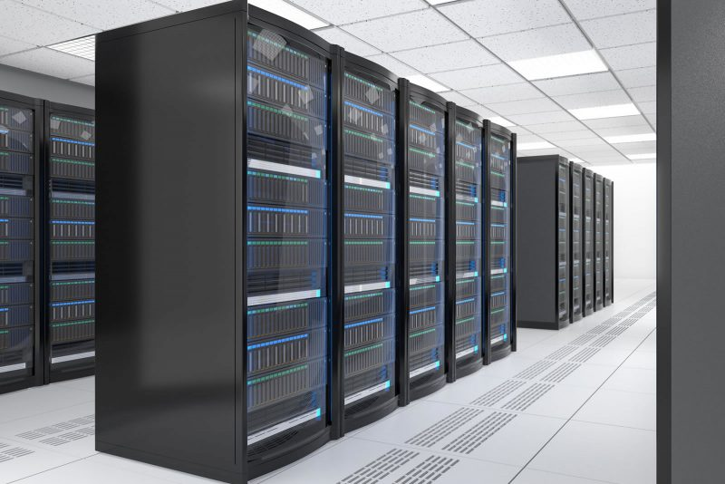 Data Recovery Server Room